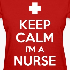 keep calm i'm a nurse