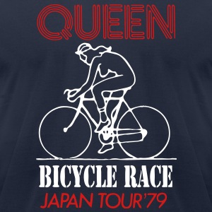 queen tour - Men's T-Shirt by American Apparel