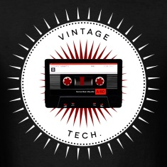 Vintage icons 06 - Audio cassette T-Shirts