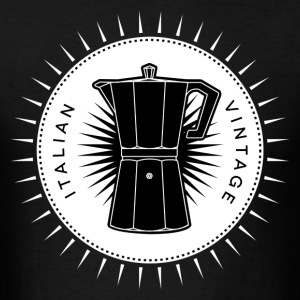 Vintage icons 03 - Moka pot T-Shirts - Men's T-Shirt