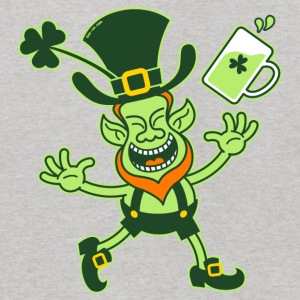 Euphoric Leprechaun Celebrating St Patrick's Day S - Kids' Hoodie