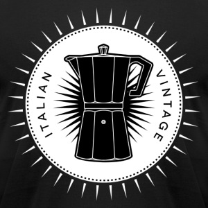 Vintage icons 03 - Moka pot T-Shirts - Men's T-Shirt by American Apparel