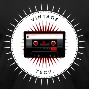 Vintage icons 06 - Audio cassette T-Shirts - Men's T-Shirt by American Apparel