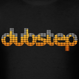 Dubstep EQ (Orange) Men's T-shirts - Men's T-Shirt
