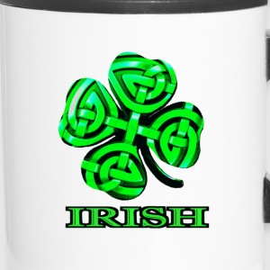 Celtic Shamrock - Travel Mug