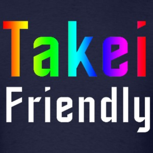 George Takei Takei Friendly mp T-Shirts - Men's T-Shirt
