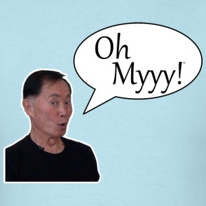 George Takei Oh Myyy mp T-Shirts - Men's T-Shirt