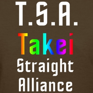 George Takei Straight Alliance-mp Women's T-Shirts - Women's T-Shirt