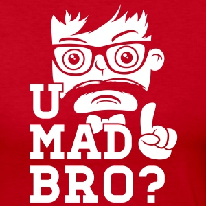 Like a swag cool u mad story bro moustache style Long Sleeve Shirts - Women's Long Sleeve Jersey T-Shirt