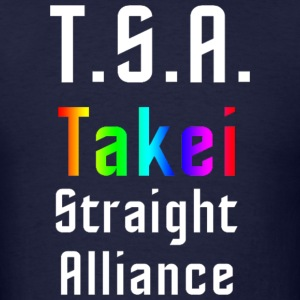 George Takei Straight Alliance - mp T-Shirts - Men's T-Shirt