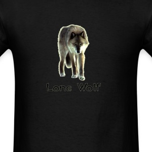 lone wolf  T-Shirts - Men's T-Shirt