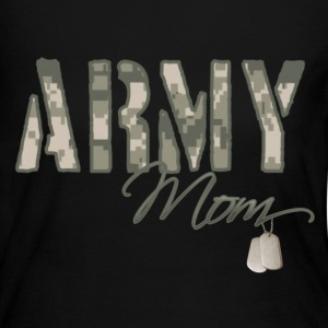 Army Mom - Women's Long Sleeve Jersey T-Shirt