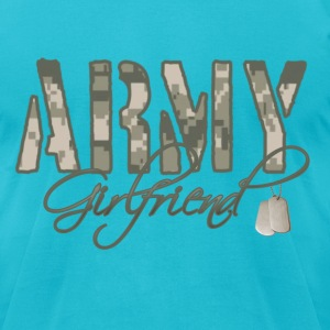 Army Girlfriend - Men's T-Shirt by American Apparel