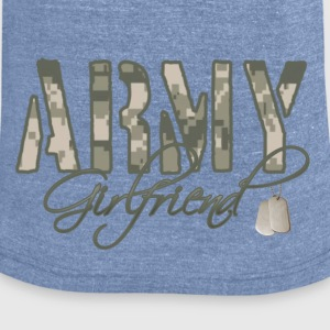 Army Girlfriend - Unisex Tri-Blend T-Shirt by American Apparel