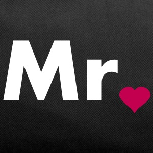 Mr with heart dot - part of Mr and Mrs set Bags  - Duffel Bag