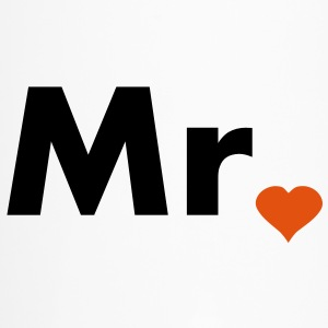 Mr with heart dot - part of Mr and Mrs set Bottles & Mugs - Travel Mug