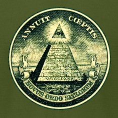 All seeing eye, pyramid, dollar, freemason, god T-Shirts