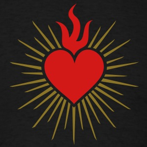 Sacred Heart - High Heart Chakra  T-Shirts - Men's T-Shirt