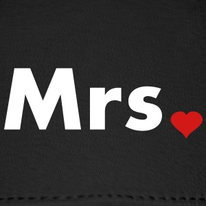 Mrs with heart dot - part of Mr and Mrs set Caps - Baseball Cap