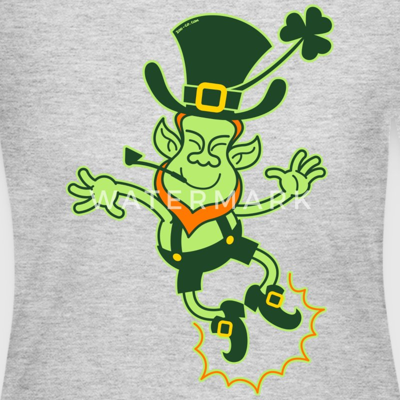 Irish Leprechaun Clapping Feet Long Sleeve Shirts - Women's Long Sleeve Jersey T-Shirt