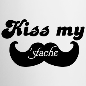 Kiss my Stache Bottles & Mugs - Coffee/Tea Mug