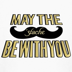 May the Stache be with you Kids' Shirts - Kids' Long Sleeve T-Shirt
