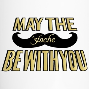 May the Stache be with you Bottles & Mugs - Travel Mug