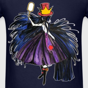 Who is the Mad Hatter ? The Queen by Shou' T-Shirts - Men's T-Shirt