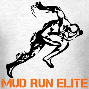 Mud Run Elite Runner T-Shirts - Men's T-Shirt