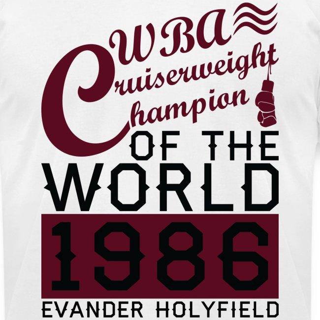 1986 WBA Cruiserweight Champion