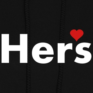 Hers - part of his and hers set Hoodies - Women's Hoodie