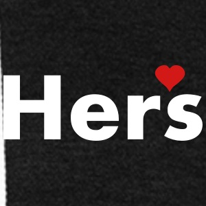 Hers - part of his and hers set Zip Hoodies/Jackets - Unisex Fleece Zip Hoodie by American Apparel