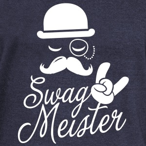 Like a swag style i love swag meister boss meme Long Sleeve Shirts - Women's Wideneck Sweatshirt
