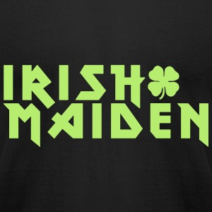 KCCO - Irish Maiden St Patrick's T-Shirts - Men's T-Shirt by American Apparel