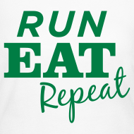 Design ~ Run Eat Repeat Long Sleeve T