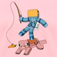 Design ~ Women's T-Shirt: Carrot on a Stick