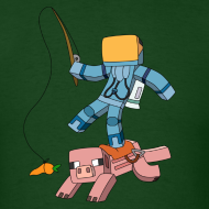 Design ~ Men's T-Shirt: Carrot on a Stick