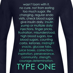 The Inspire Collection - Type One - Green Long Sleeve Shirts - Women's Long Sleeve Jersey T-Shirt