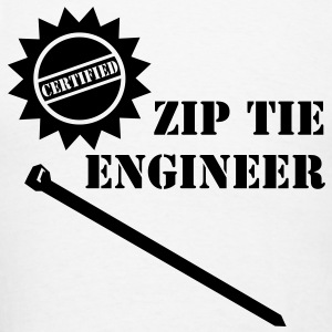 Zip Tie Engineer - Men's T-Shirt