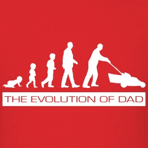 The Evolution of Dad T-Shirts - Men's T-Shirt