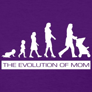 The Evolution of Mom Special Occasion T-Shirt - Women's T-Shirt