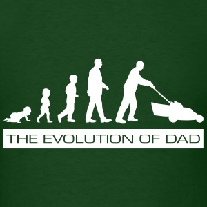 The Evolution of Dad Fathers Day T-Shirts - Men's T-Shirt