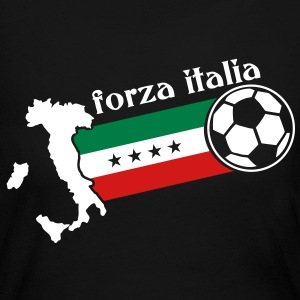 forza italia soccer Long Sleeve Shirts - Women's Long Sleeve Jersey T-Shirt