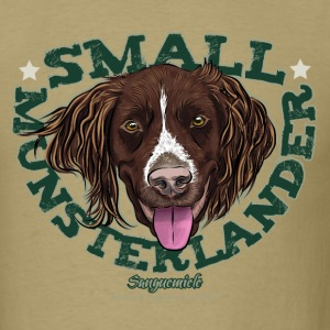 small_munsterlander_face T-Shirts - Men's T-Shirt