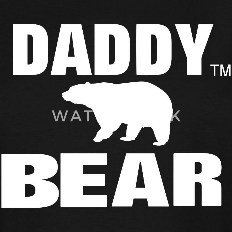 DADDY BEAR T-Shirts - Men's Tall T-Shirt