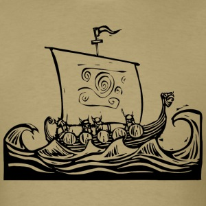 Viking Ship T-Shirts - Men's T-Shirt