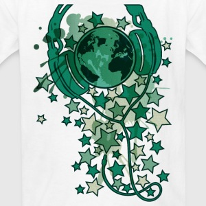 Earth_Music - Kids' T-Shirt
