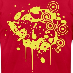 Zimbabwe Grunge T-Shirts - Men's T-Shirt by American Apparel