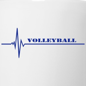 volleyball Bottles & Mugs - Coffee/Tea Mug