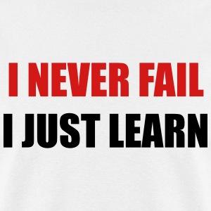 I never fail, I just learn